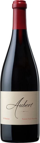 2017 UV Vineyard Sonoma Coast Pinot Noir bottle