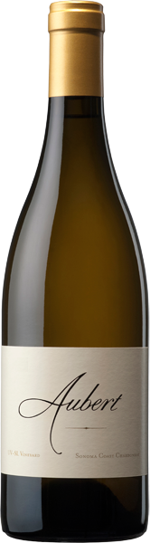 2017 UV-SL Vineyard Sonoma Coast Chardonnay bottle