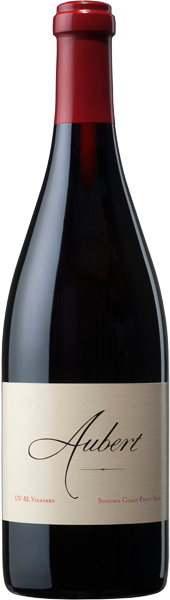 2016 UV-SL Vineyard Sonoma Coast Pinot Noir bottle